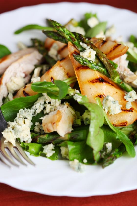 Asparagus-pear-salad