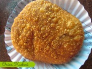 Spicy onion Kachori